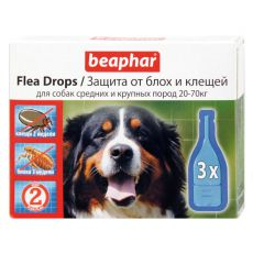 Pipetta bolha és kullancs ellen kutyának, 20-70 kg