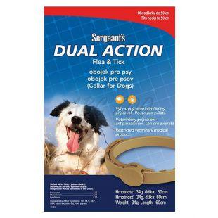 Közepes kutyáknak parazita elleni nyakörv Sergeant´s - 60 cm