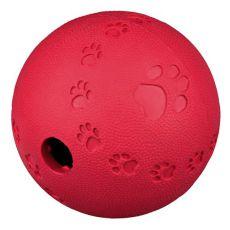 Játék labda kutyának - természetes gumi, 9 cm