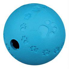 Játék labda kutyának - természetes gumi, 7 cm