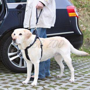 Biztonsági kutyapóráz autóba - fekete - 27cm
