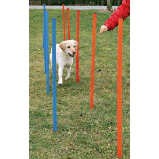 Akadály kutyának - Agility Szlalom 115x3cm