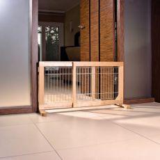 Korlát kutyák számára, mozgatható 63-108x50x31cm