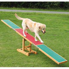Ügyességi akadály kutyának, libikóka 300x34x54cm