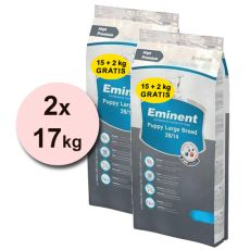 EMINENT Puppy Large Breed - 2 x 17 kg
