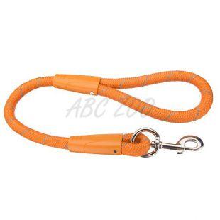 Nylon kutyapóráz, narancssárga - 62 cm