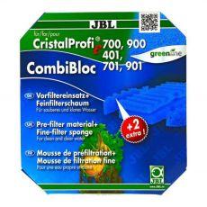 JBL Cristal Profi e401, e700/701, e900/901 - szűrőanyag CombiBloc