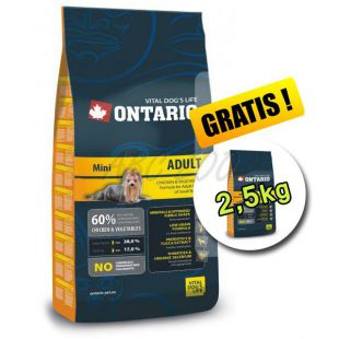 Ontario Adult Mini 13 kg + 2,5 kg INGYEN