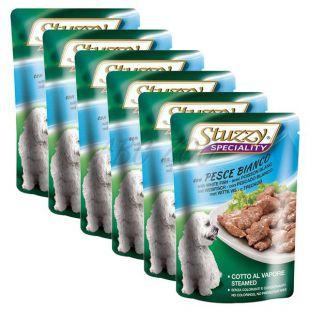 Stuzzy Speciality Dog - tőkehal, 6 x 100 g