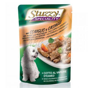 Stuzzy Speciality Dog - nyúl zöldséggel, 100 g