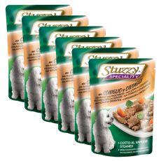 Stuzzy Speciality Dog - nyúl zöldséggel, 6 x 100 g
