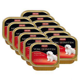 ANIMONDA Junior pástétom - csirke és marhahús, 12 x 150g