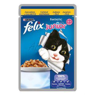 Felix Junior - csirkehús aszpikban, 100 g