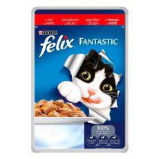 Felix eleség - marhahús zselében, 100 g