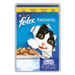 Felix eleség - csirkehús zselében, 100 g