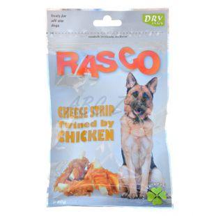 Rágcsálnivaló kutyának RASCO - sajtcsíkok csirkehús bevonattal, 80 g