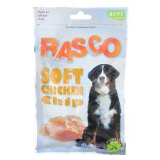 Kutyus jutalomfalatok RASCO - csirkehús szeletek, 80 g