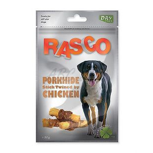 RASCO rágcsálnivaló - marhahúsos rúd csirkehús bevonattal, 80 g
