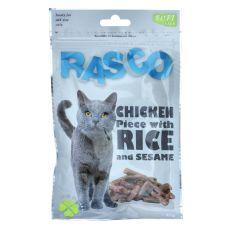 RASCO csemege - csirkehús rizzsel és szezámmaggal, 80 g