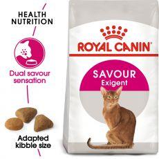 Royal Canin Savour EXIGENT - eleség finnyás cicának, 2 kg