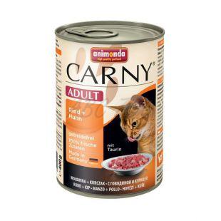 CARNY ADULT eledel marha és csirkehússal - 400 g