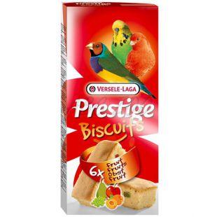 Jutalomfalat Prestige Biscuits madaraknak 6 db - gyümölcsös keksz