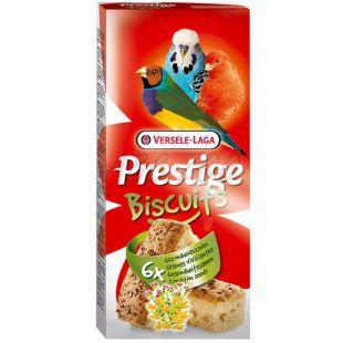 Jutalomfalat madarak számára Prestige Biscuits 6 db - piskóta magokkal
