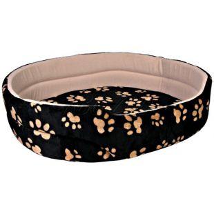Charly kutyaágy kutyák és macskák részére, fekete - bézs - 50x43cm