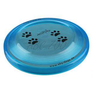 Műanyag kutya frizbi - 19cm