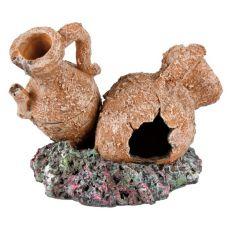Akváriumi dekorációk vázák és amfórák, 7 - 8cm
