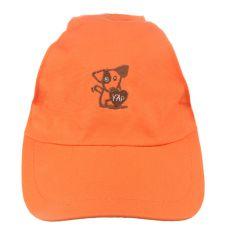 Sapka kutyák részére YAP Dog, narancssárga - 15 cm