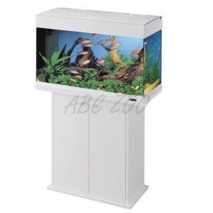 Ferplast DUBAI 80 FEHÉR akvárium - 125L + szekrény