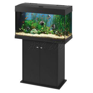 Ferplast DUBAI 80 FEKETE akvárium - 125L + szekrény