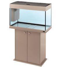 Ferplast DUBAI 80 Szürke akvárium  - 125L + szekrény