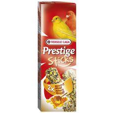 Rudacskák kanáriknak Prestige Sticks 2db - méz, 60g