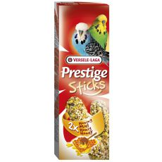 Rudacskák törpepapagájoknak Prestige Sticks 2db - méz, 60g