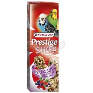Rudacskák törpepapagájoknak Prestige Sticks 2db - erdei gyümölcs.