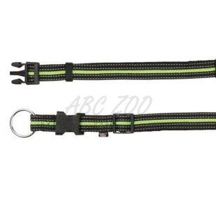 Nylon kutyanyakörv - feketezöld, L-XL