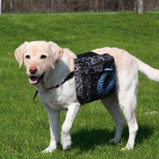 Dupla hátizsák kutyáknak L - 28x18cm