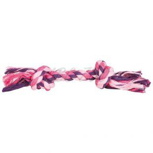 Pamut kötél csomókkal kutyajáték - 28cm