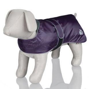 Kutyáknak kabát fényvisszaverő elemekkel, lila  - S / 38-50cm