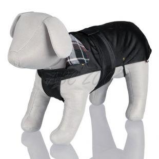 Kabát kutyáknak flanel gallérral - M / 45-65cm