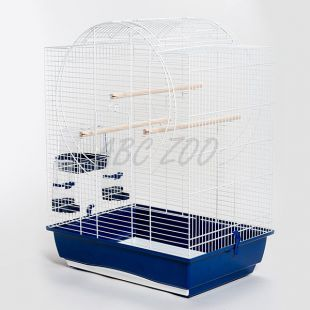 Kalitka papagájoknak EMMA CABRIO fehér - 54 x 39 x 73cm