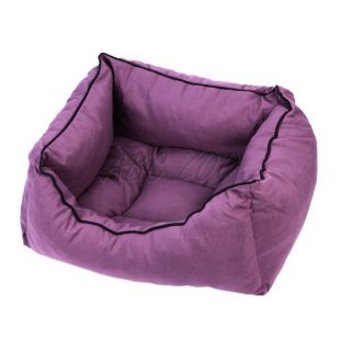 Kutyaágy lila színű - M / 50x40x20cm