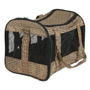 Hordozható táska kutyáknak és macskáknak - Malinda, 26x24x38cm