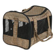 Hordozható táska kutyáknak és macskáknak - Malinda, 27x30x50cm