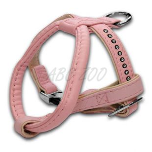 Kutyahám strasszokkal, rózsaszín - 1,5x25x30cm