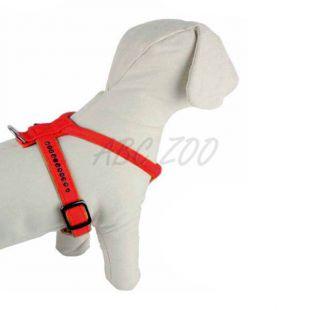 Kutyahám strasszokkal, piros - 1,5x32x40cm