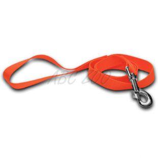 Kutyapóráz - neon narancssárga, 1 x 120 cm