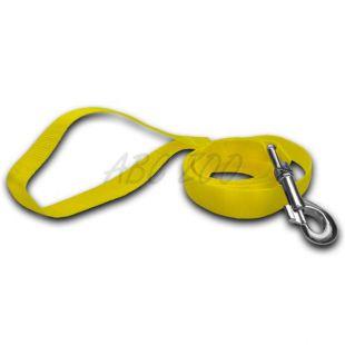 Kutyapóráz - neon sárga, 1,6 x 120 cm